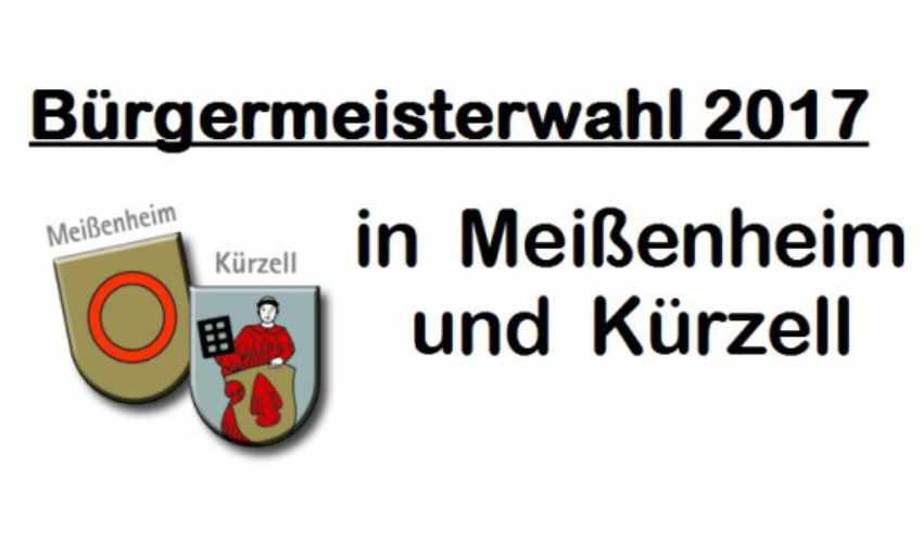 Wahlergebnis der Bürgermeisterwahl vom 10.09.2017