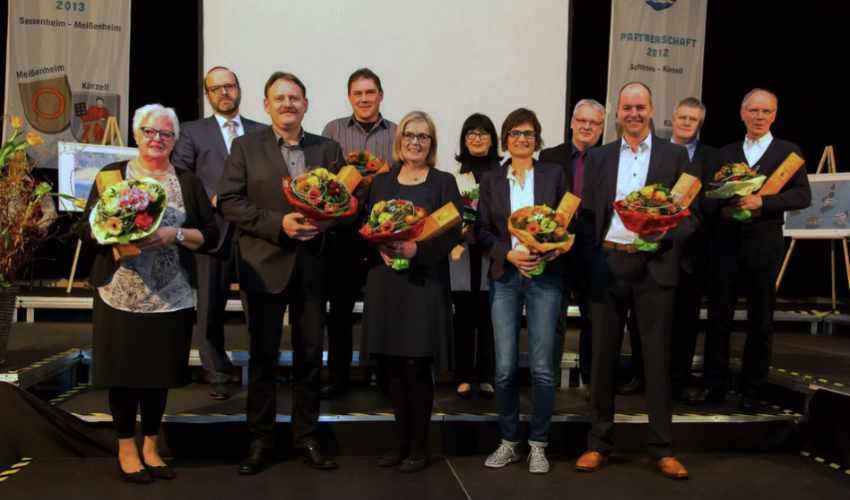 Organistationsteam 750-Jahre Meißenheim