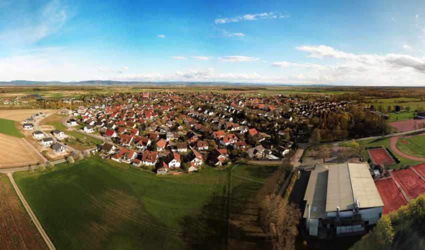 Luftbild von Meißenheim