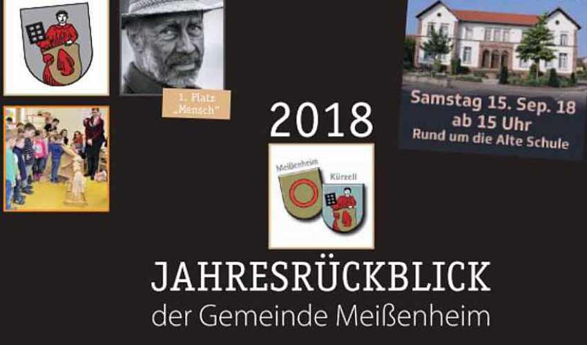Jahresrückblick 2018 der Gemeinde Meißenheim