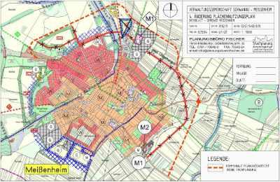 Flächennutzungsplan Meißenheim