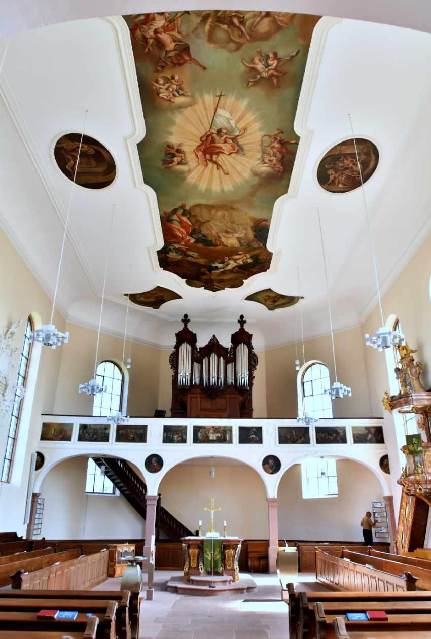 Evangelische Barockkirche Meißenheim
