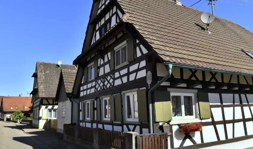 Fachwerkhaus in Meißenheim