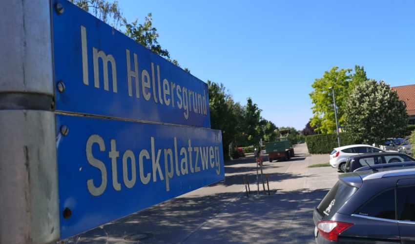 Geänderte Vorfahrtsregelung im Stockplatzweg
