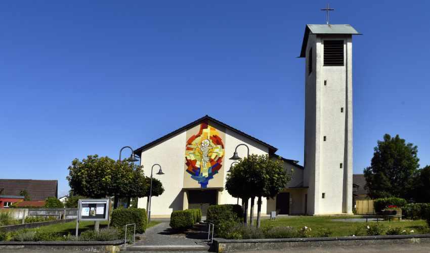 Auferstehungskirche in Kürzell