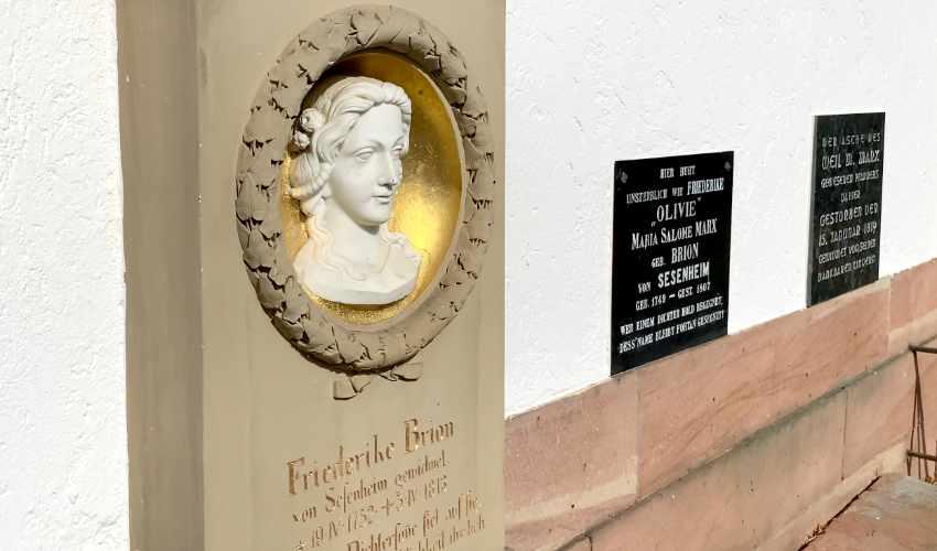Grabstätte von Friederike Brion