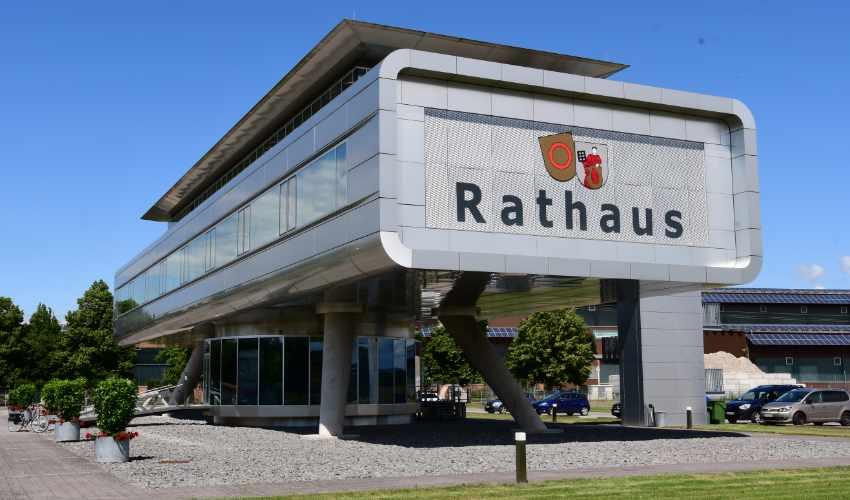 Das neue Rathaus Meißenheim ist seit März 2017 Sitz der Hauptverwaltung.