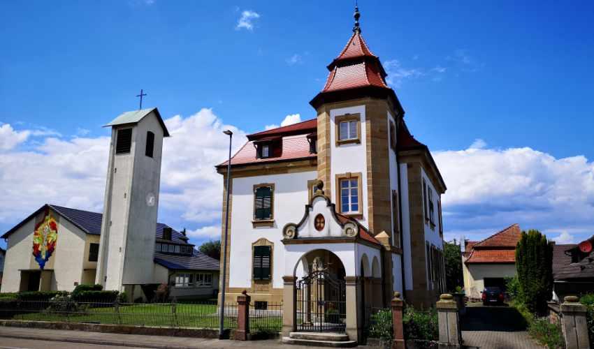 Ehemaliges evangelisches Pfarramt Kürzell