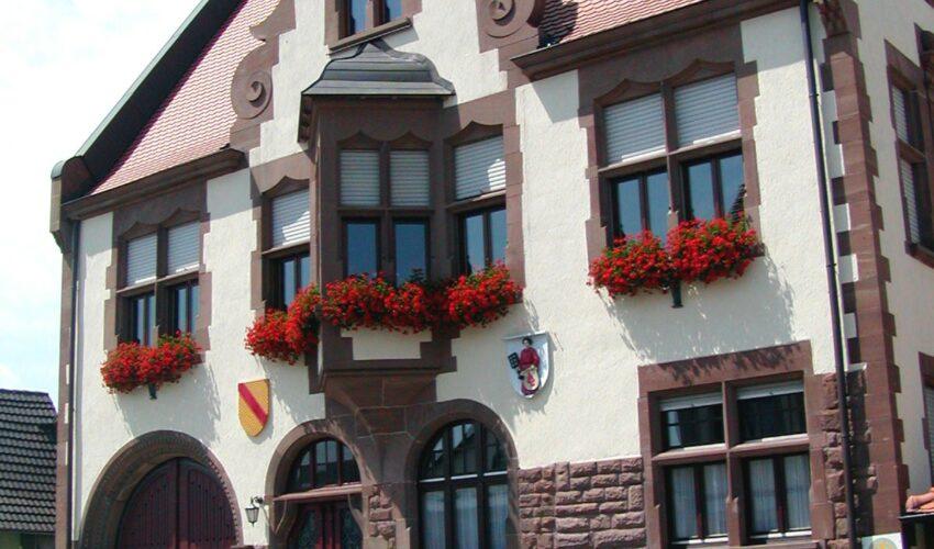 Rathaus und Ortsverwaltung geschlossen