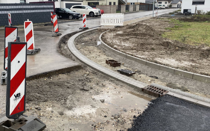 Straßensperrung Stockplatzweg / Johann-Pfunner-Straße